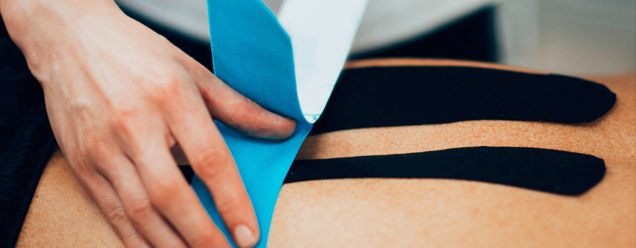 kinesio taping dynamx physical therapy